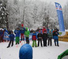 Hermine und Sepp Resch-Gedächtnislauf auf geänderter Strecke bei nassem Schneefall